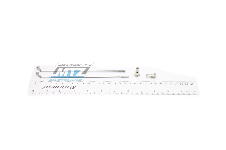 """Drát/Špice nerezové do kola + Niple 17"""" - Yamaha XT600E / 90-03"""