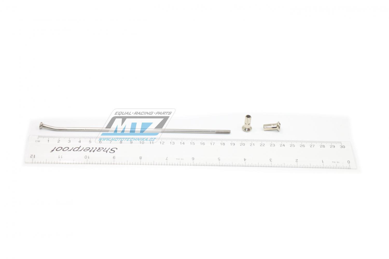 """Drát/Špice nerezové do kola + Niple 17"""" - KTM SX85 / 04-11"""