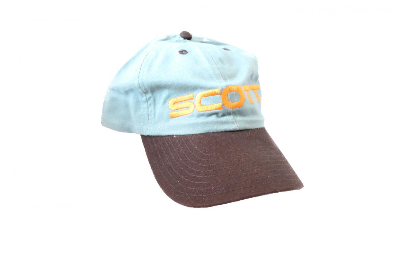 Čepice s kšiltem Scott zelená
