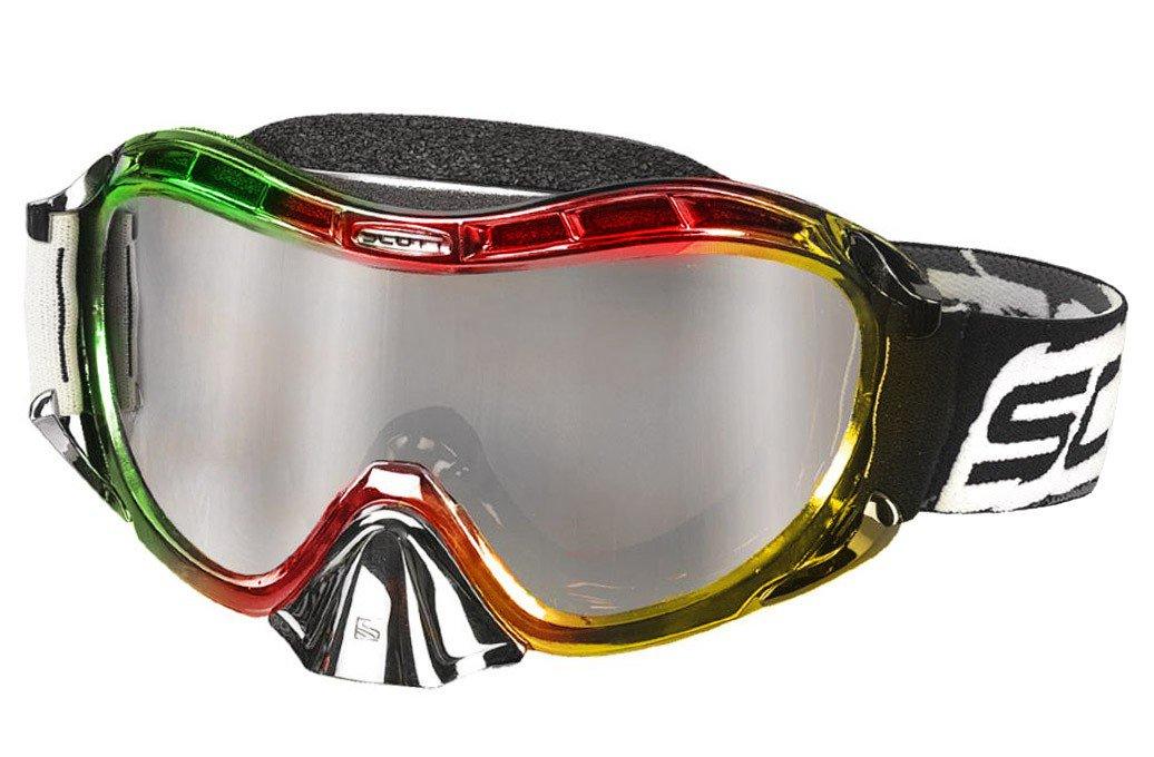 Brýle Scott Ultimate Voltage MX SGL Silver Chrome (včetně pouzdra na brýle)