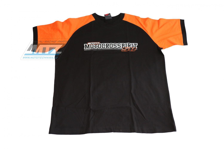 Tričko Scott MOTOCROSSPIRIT krátký rukáv L