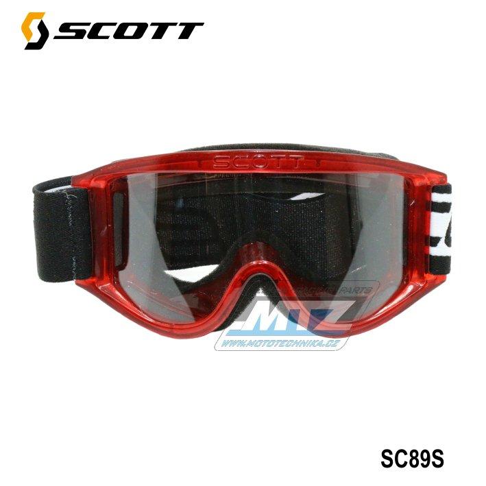 Brýle Scott 89 S dětské červené