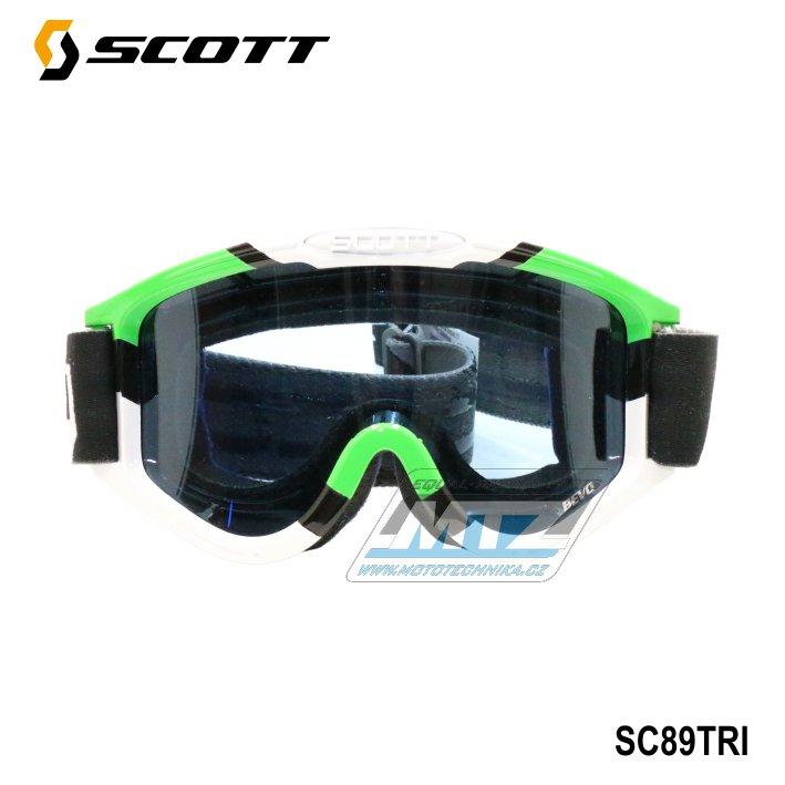 Brýle Scott Bevo TriColor zelené