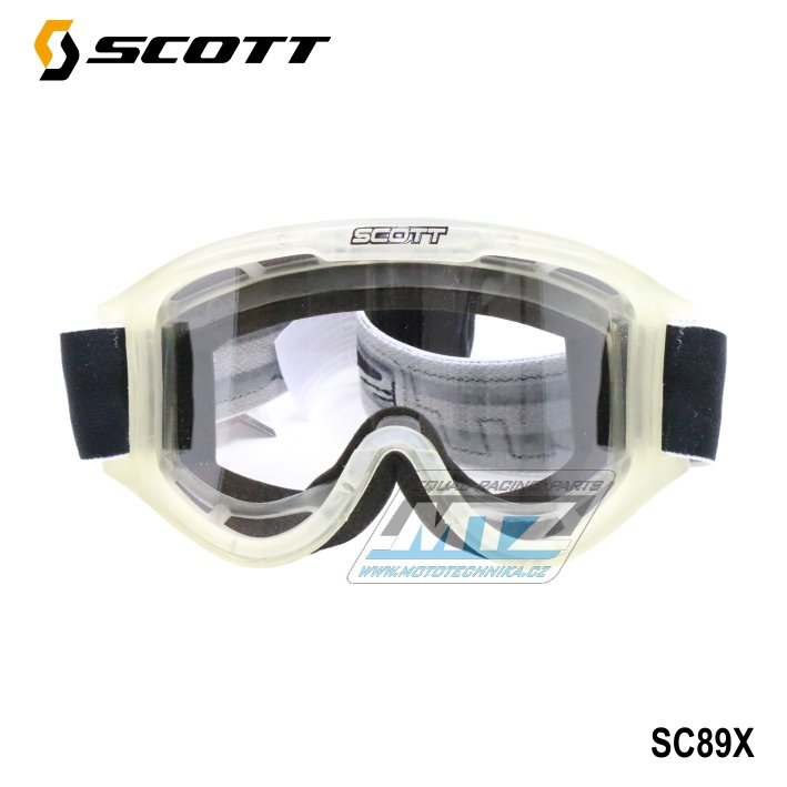 Brýle Scott 89X transparent