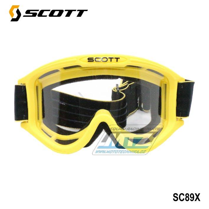 Brýle Scott 89X žluté