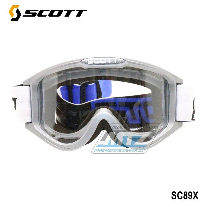 Brýle Scott 89X šedé