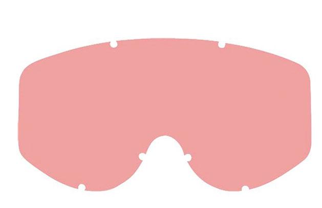 Sklo pro brýle Scott 83/87/89+Recoil Lexan (tvrzené) - pink/red (růžové, červené)