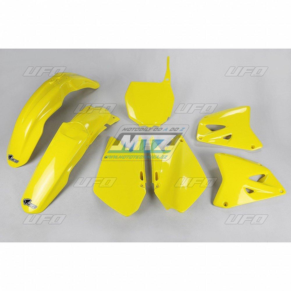 Sada plastů Suzuki - RM125+250 / 03-05 - žlutá