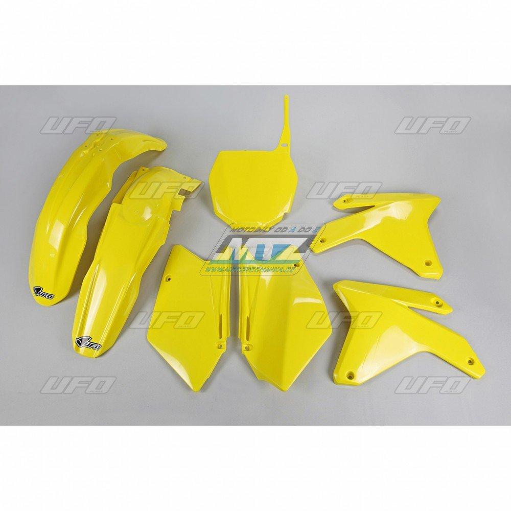 Sada plastů Suzuki - RMZ450 / 05-06 - žlutá