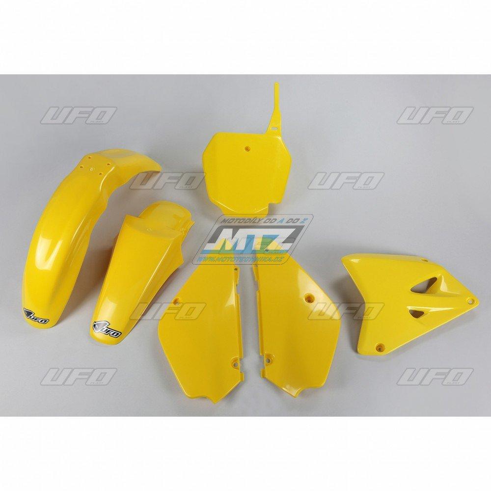 Sada plastů Suzuki - Restyling RM85 / 00-17 - žlutá suzuki