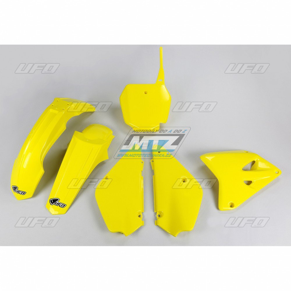 Sada plastů Suzuki - Restyling RM85 / 00-17 - žlutá