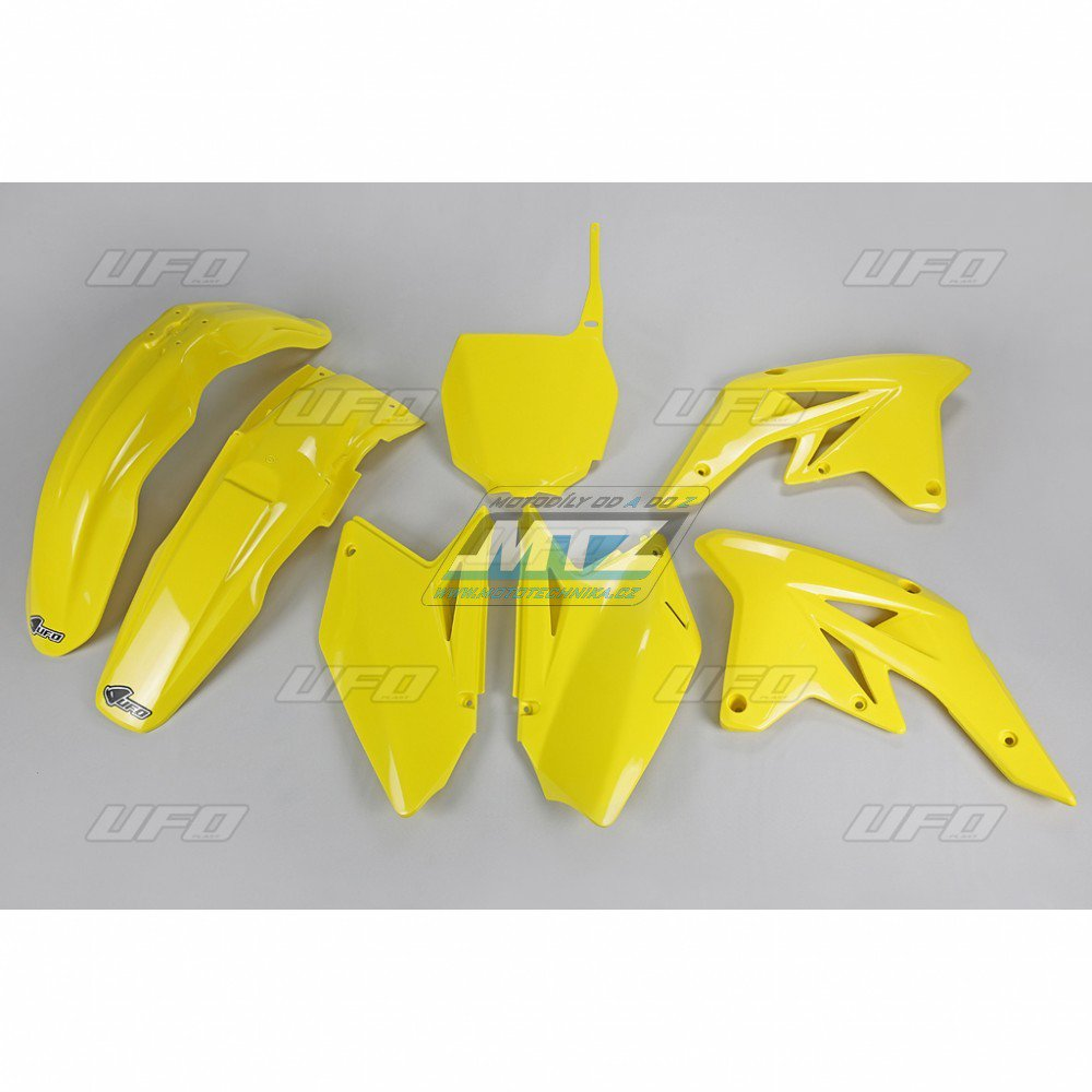 Sada plastů Suzuki - RMZ250 / 07-08 - žlutá