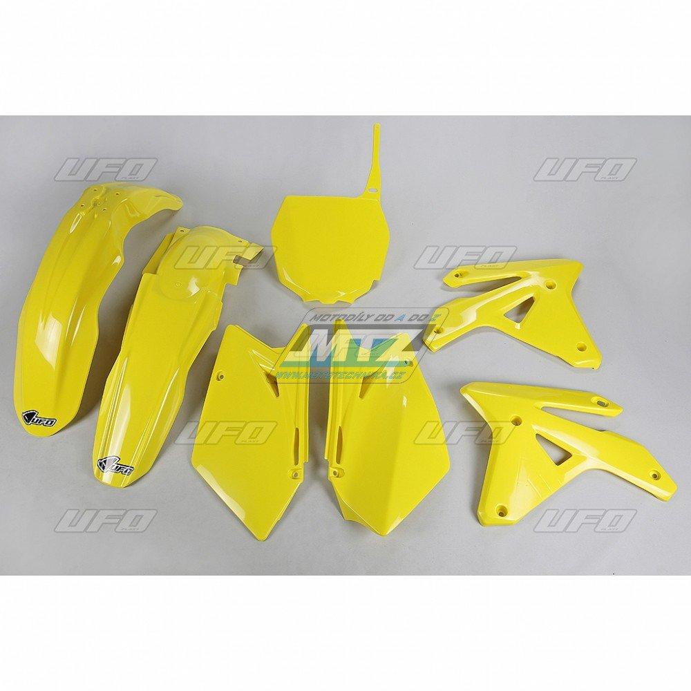 Sada plastů Suzuki - RMZ450 / 07 - žlutá