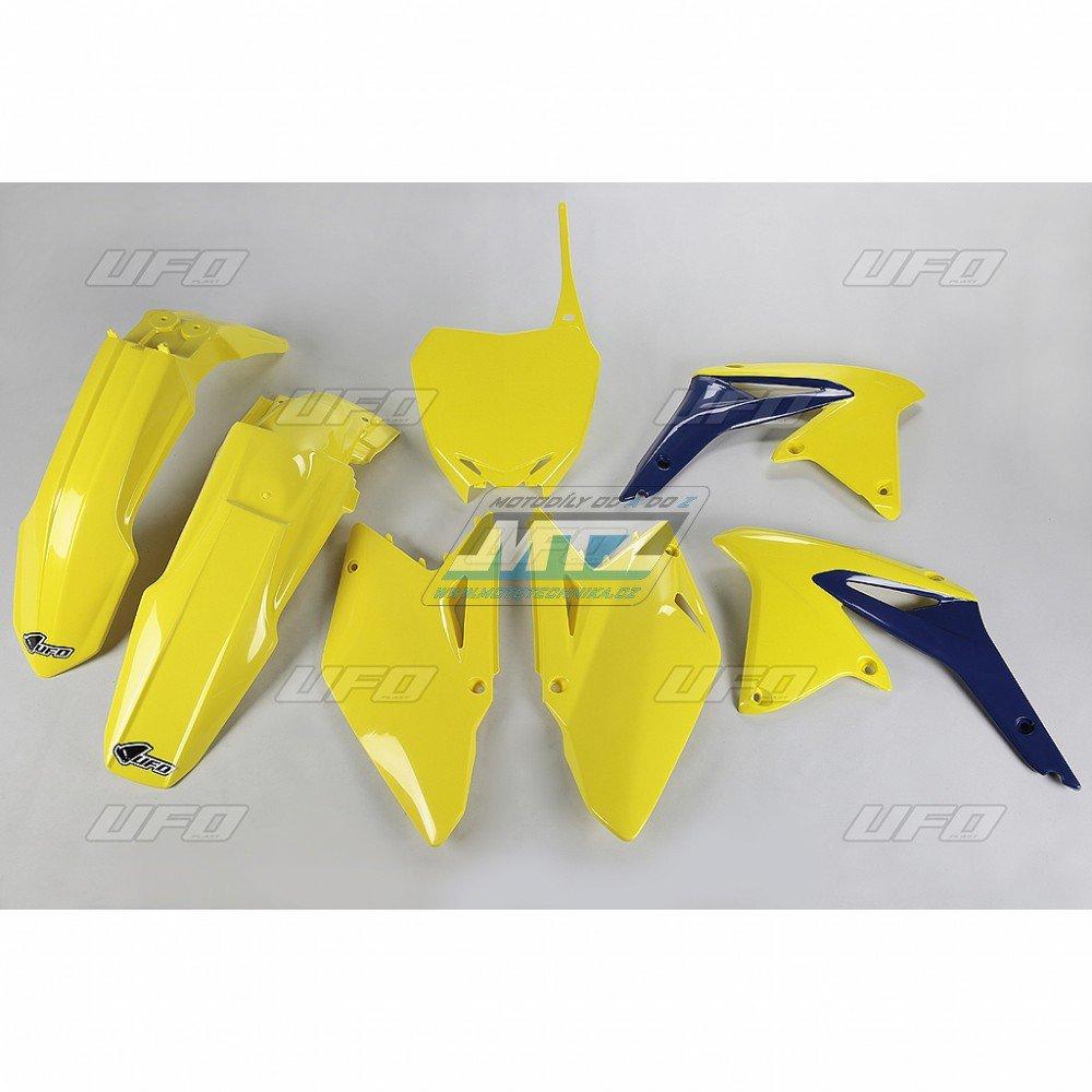 Sada plastů Suzuki - RMZ450 / 08 - žlutá