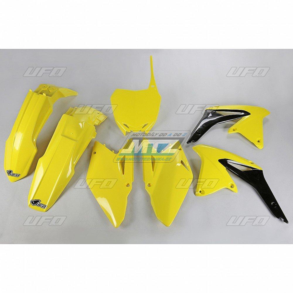 Sada plastů Suzuki - RMZ450 / 09-10 - žlutá