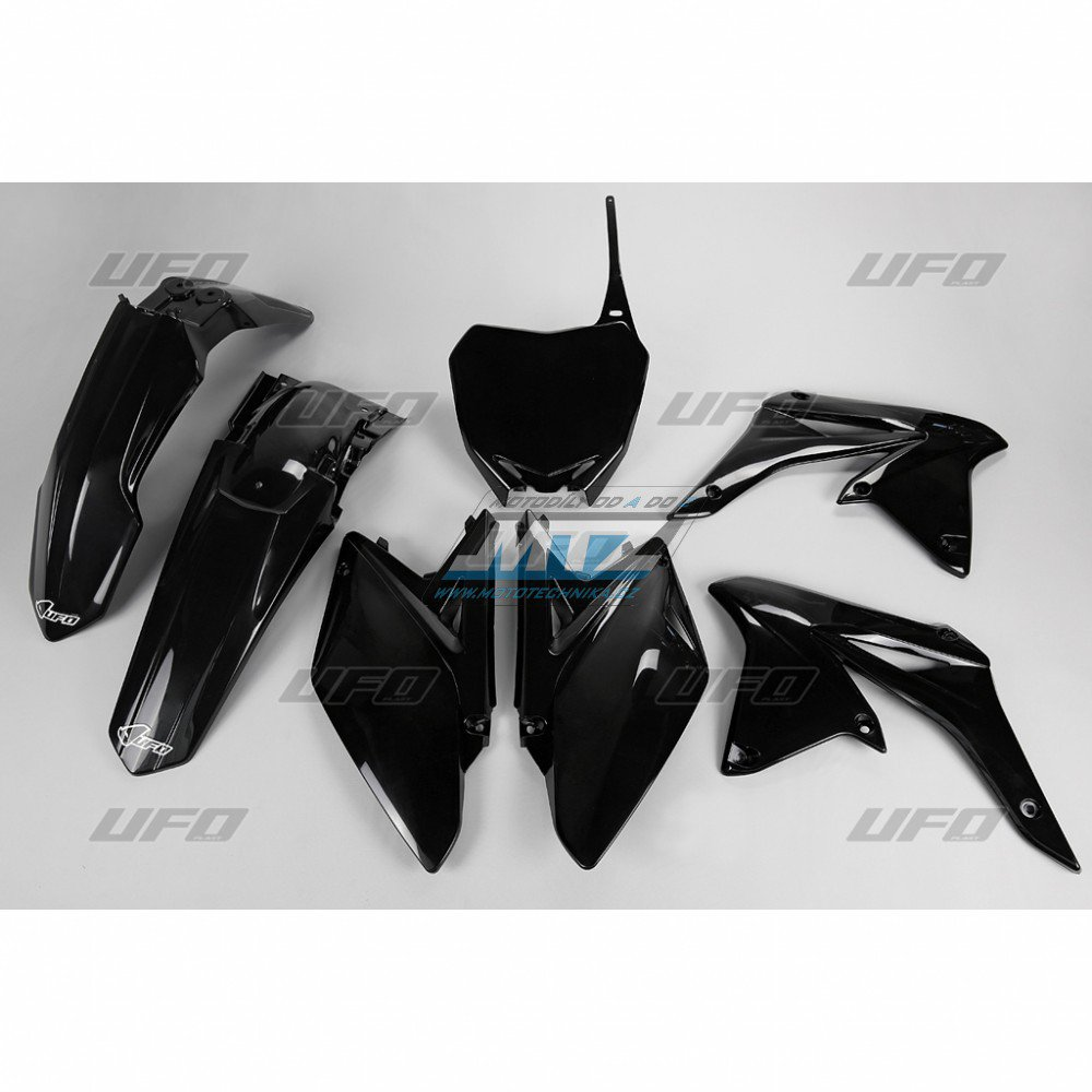 Sada plastů Suzuki - RMZ250 / 10 - černá