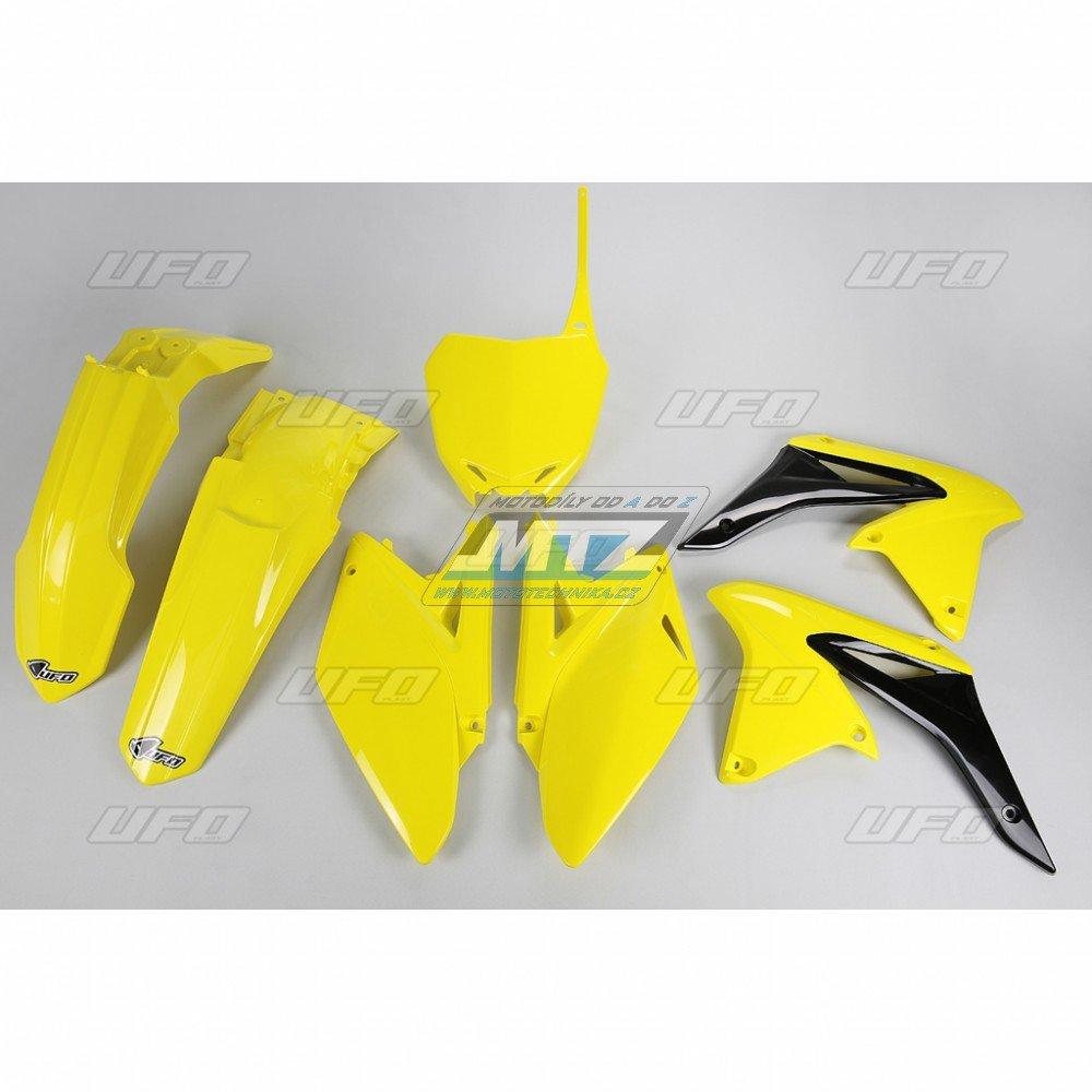 Sada plastů Suzuki - RMZ250 / 10 - žlutá