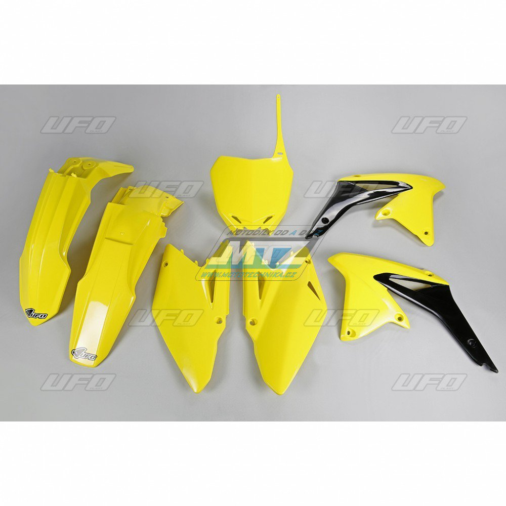Sada plastů Suzuki - RMZ450 / 11-12 - žlutá