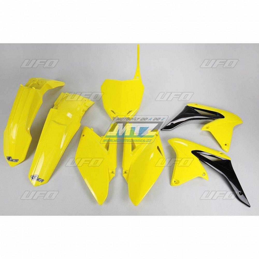 Sada plastů Suzuki - RMZ250 / 11-12 - žlutá