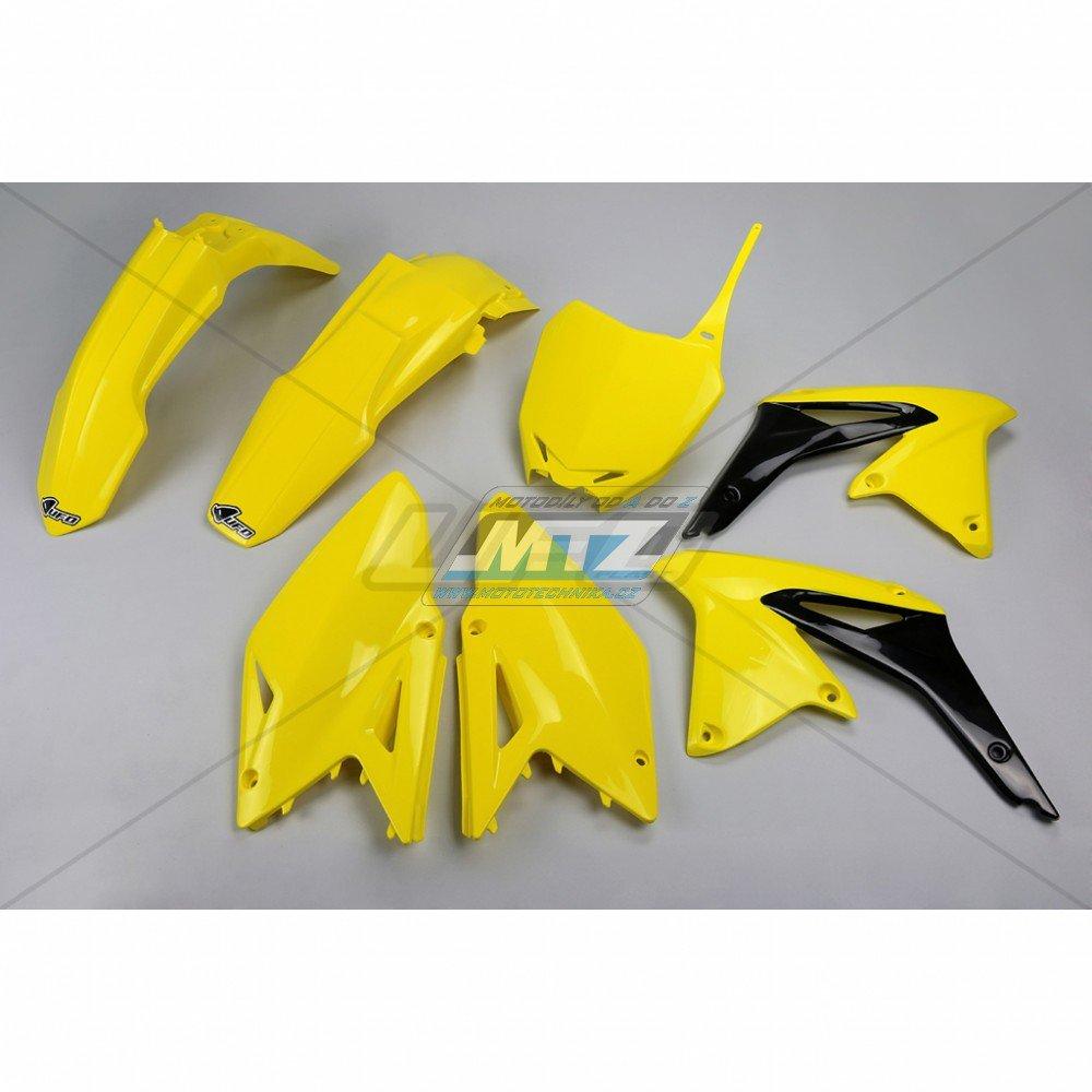 Sada plastů Suzuki - RMZ450 / 13 - žlutá