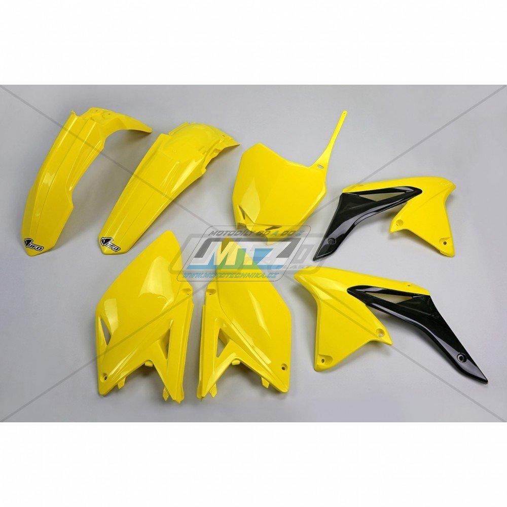Sada plastů Suzuki - RMZ250 / 13 - žlutá