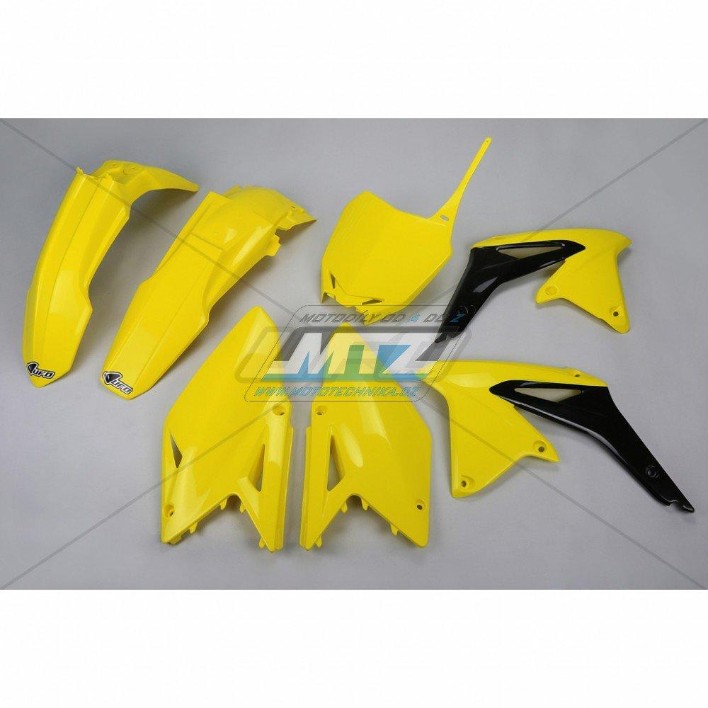 Sada plastů Suzuki - RMZ450 / 14-17 - žlutá