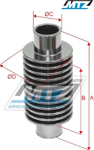 MTZ Supercooler - priemer 21mm prídavný chladič