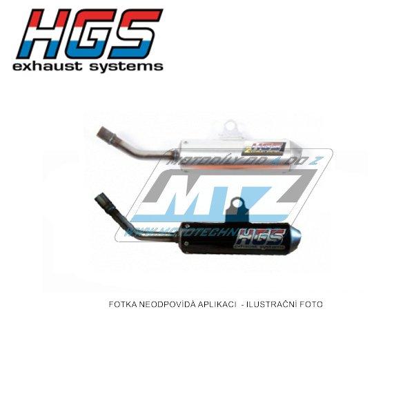 Koncovka (tlumič) výfuku HGS - KTM 65SX / 16-18 + Husqvarna TC65 / 17-18 - oranžová
