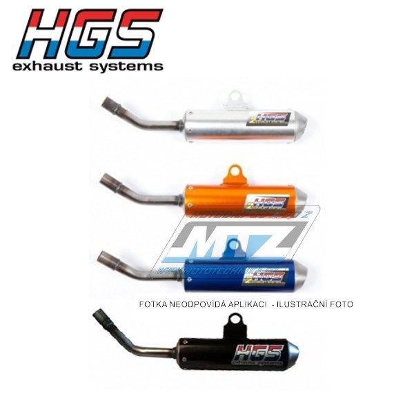 Koncovka (tlumič) výfuku HGS - KTM 85SX / 13-17 + Husqvarna TC85 / 14-17 - oranžová