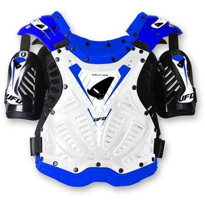 Chránič těla (nárameníky) Ufo ShieldOne - bílo-modré