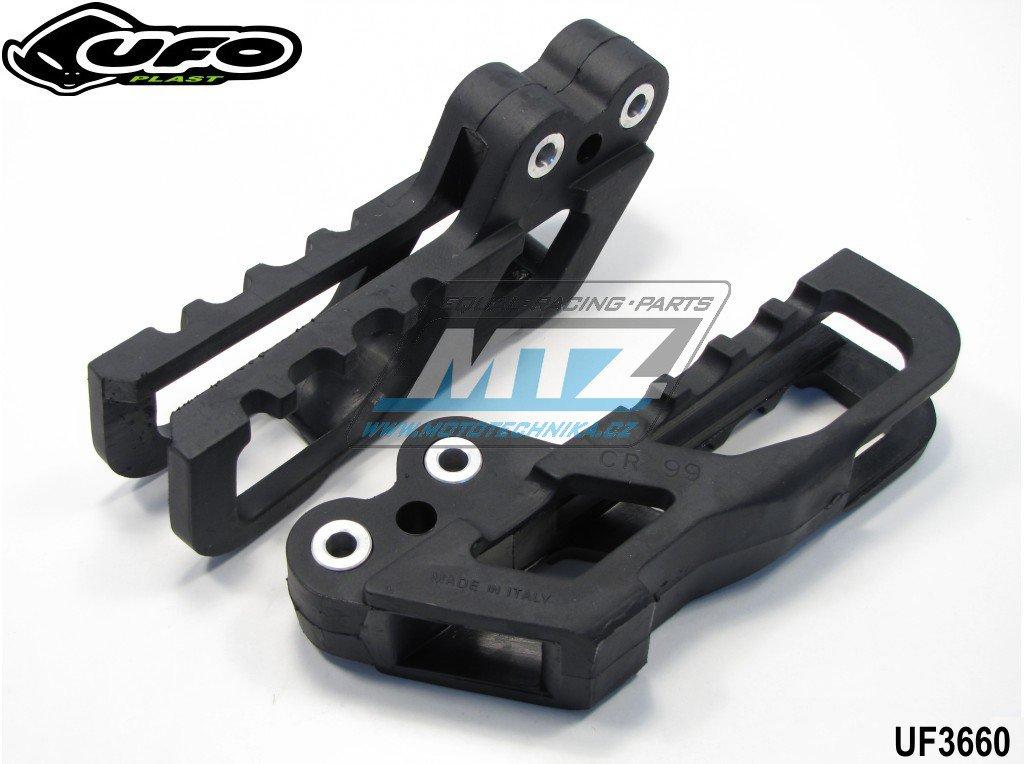 Vodítko řetězu Honda CR 125+250 / 99-04 + CRF250R / 04 + CRF450R / 02-04 + AJP PR5 + AJP PR4 + AJP PR3 - černé