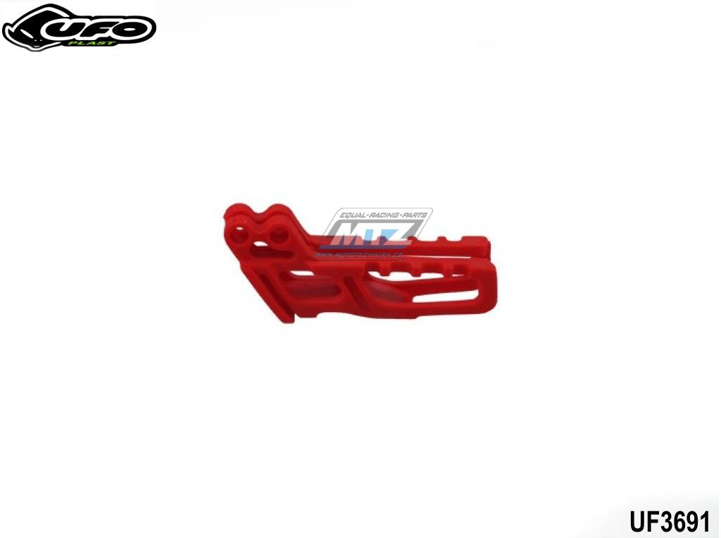 Vodítko řetězu Honda CR125+250 + CRF450R + TM / 2010 - červené