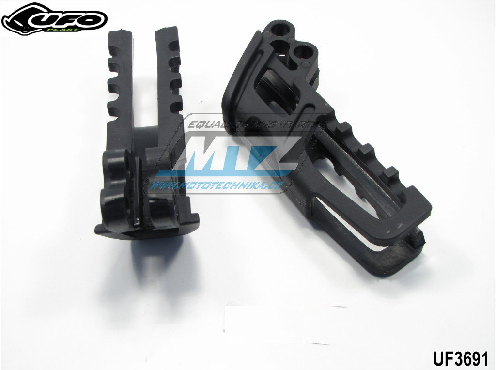 Vodítko řetězu Honda CR125+250 + CRF450R + TM / 2010 - černé