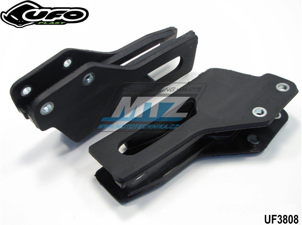 Vodítko řetězu Yamaha YZ125+250 / 97-02 + YZF250+400+426 / 98-02 + YZF450 / 06 + WRF250+400+426 / 98-02 - černé