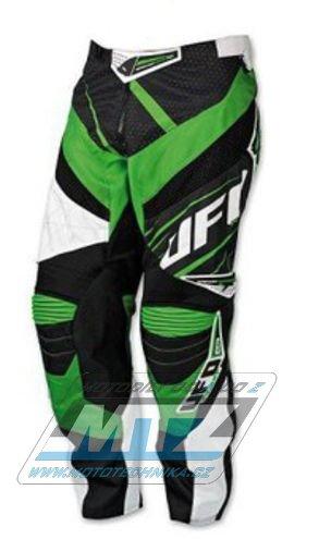 Kalhoty jezdecké Ufo MX23 zelené