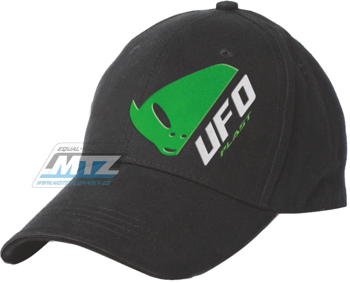 Kšiltovka Ufo - černá