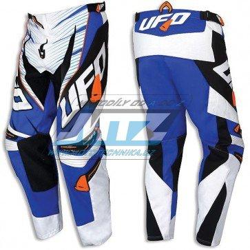 Kalhoty jezdecké Ufo Voltage modro-bílé (velikost 40)