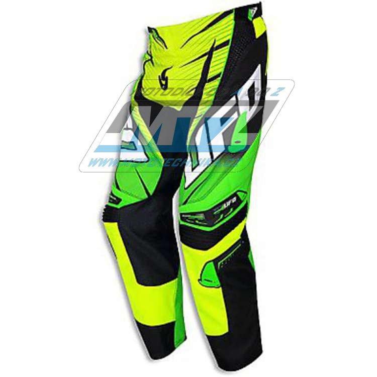 Kalhoty jezdecké Ufo Voltage žluté fluo (velikost 32)