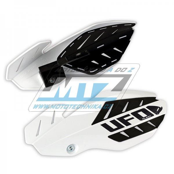 Kryty páček Ufo Flame Suzuki RMZ250+450 / 12-18 - bílé