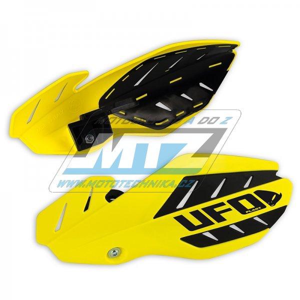 Kryty páček Ufo Flame Suzuki RMZ250+450 / 12-18 - žluté