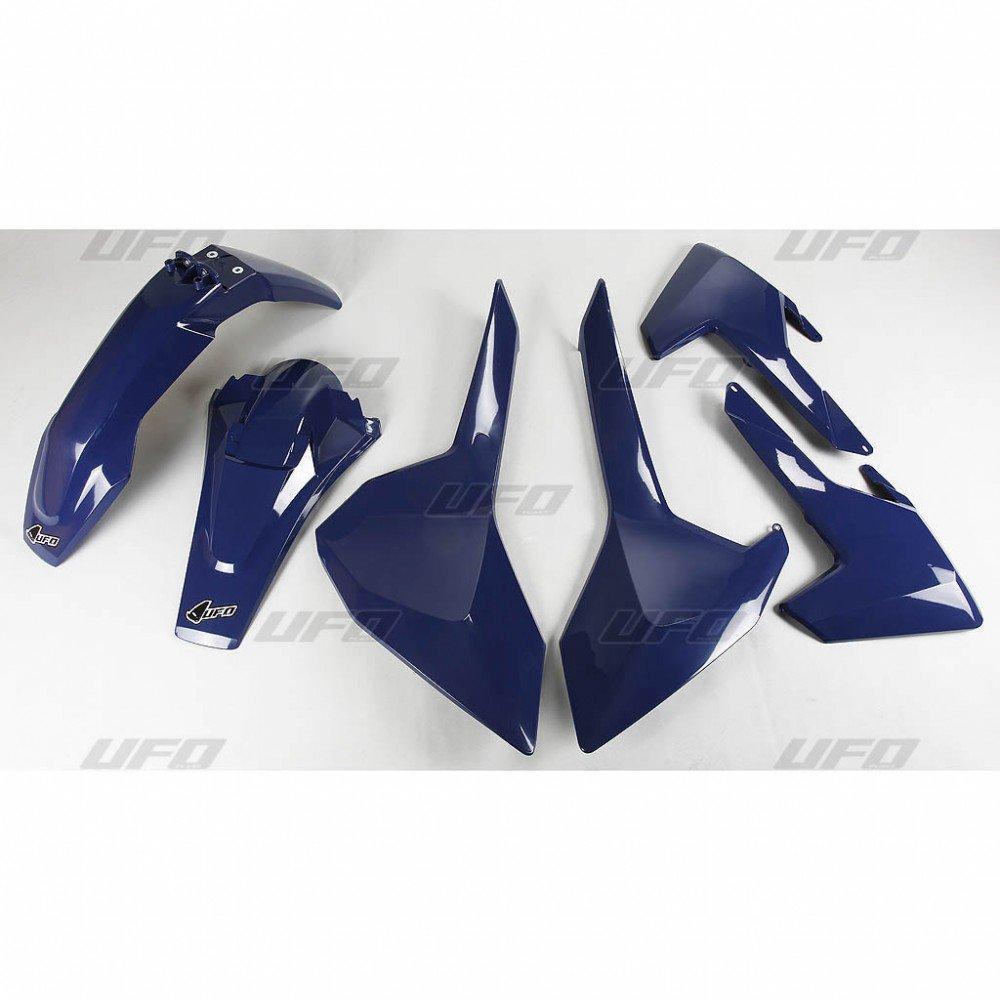 Sada plastů Husqvarna TE125+250+300 + FE250+350+450+501 + TX125+250+300 / 17 - modrá
