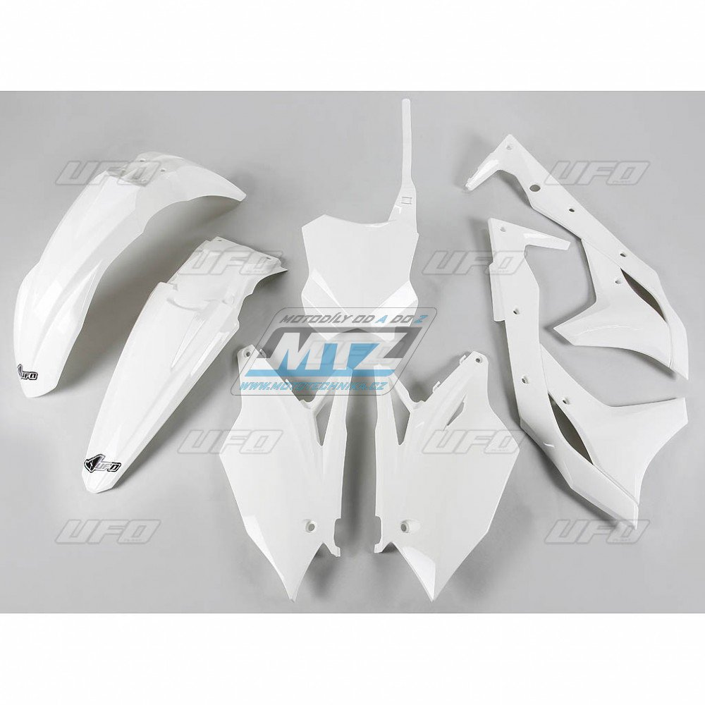 Sada plastů Kawasaki - KXF250 / 17 - bílá