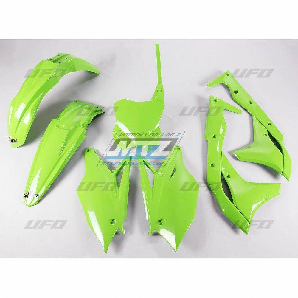 Sada plastů Kawasaki - KXF250 / 17 - zelená
