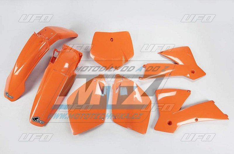 Sada plastů KTM - 125+250+450+520SX+SXF/01-02 - oranžová