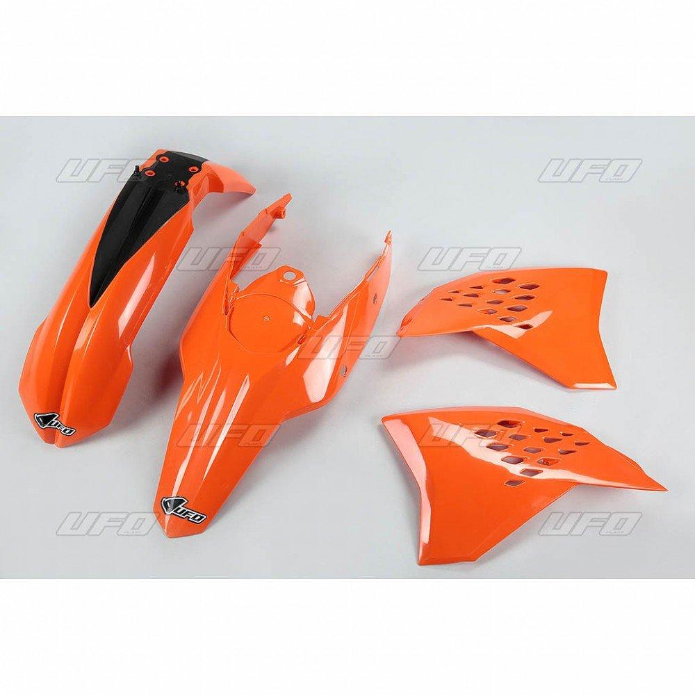 Sada plastů KTM - 125+250+300+450+530EXC+EXCR / 11 - oranžová