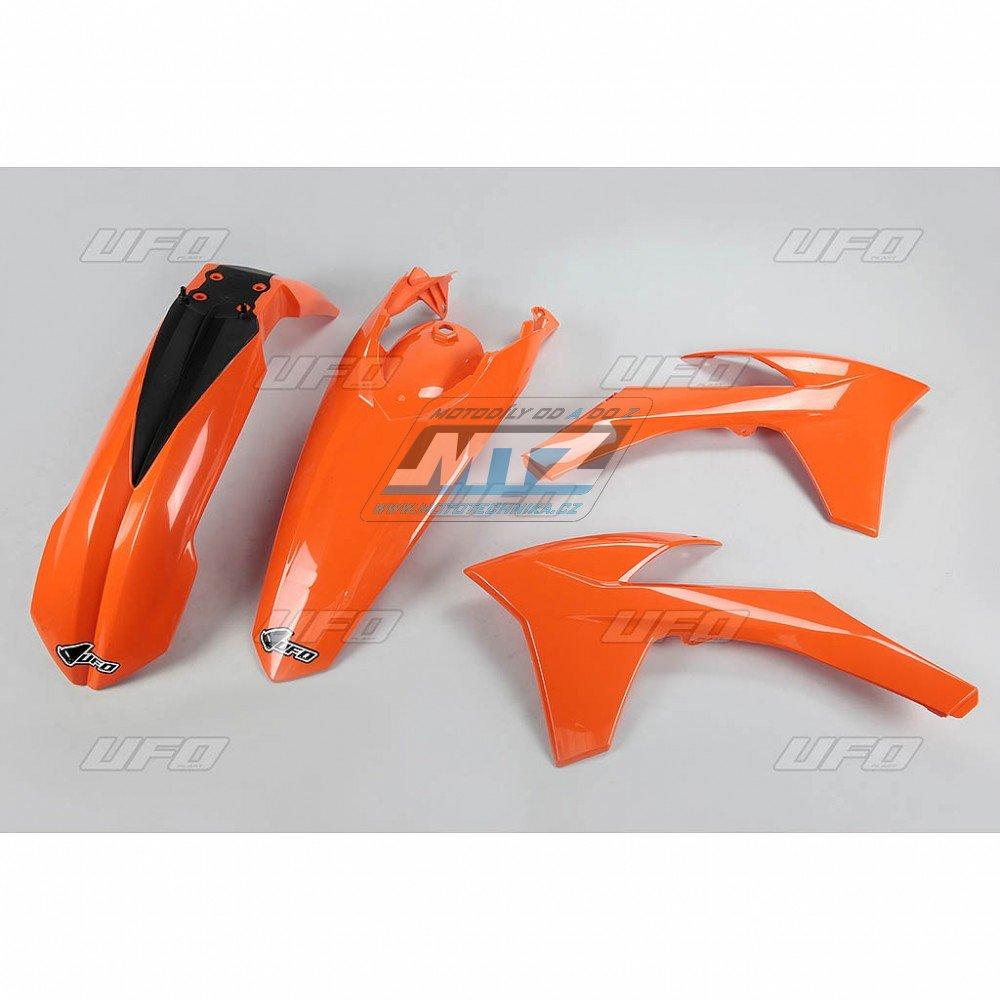 Sada plastů KTM - 125+250+300+350+450+500EXC+EXCR / 12-13 - oranžová