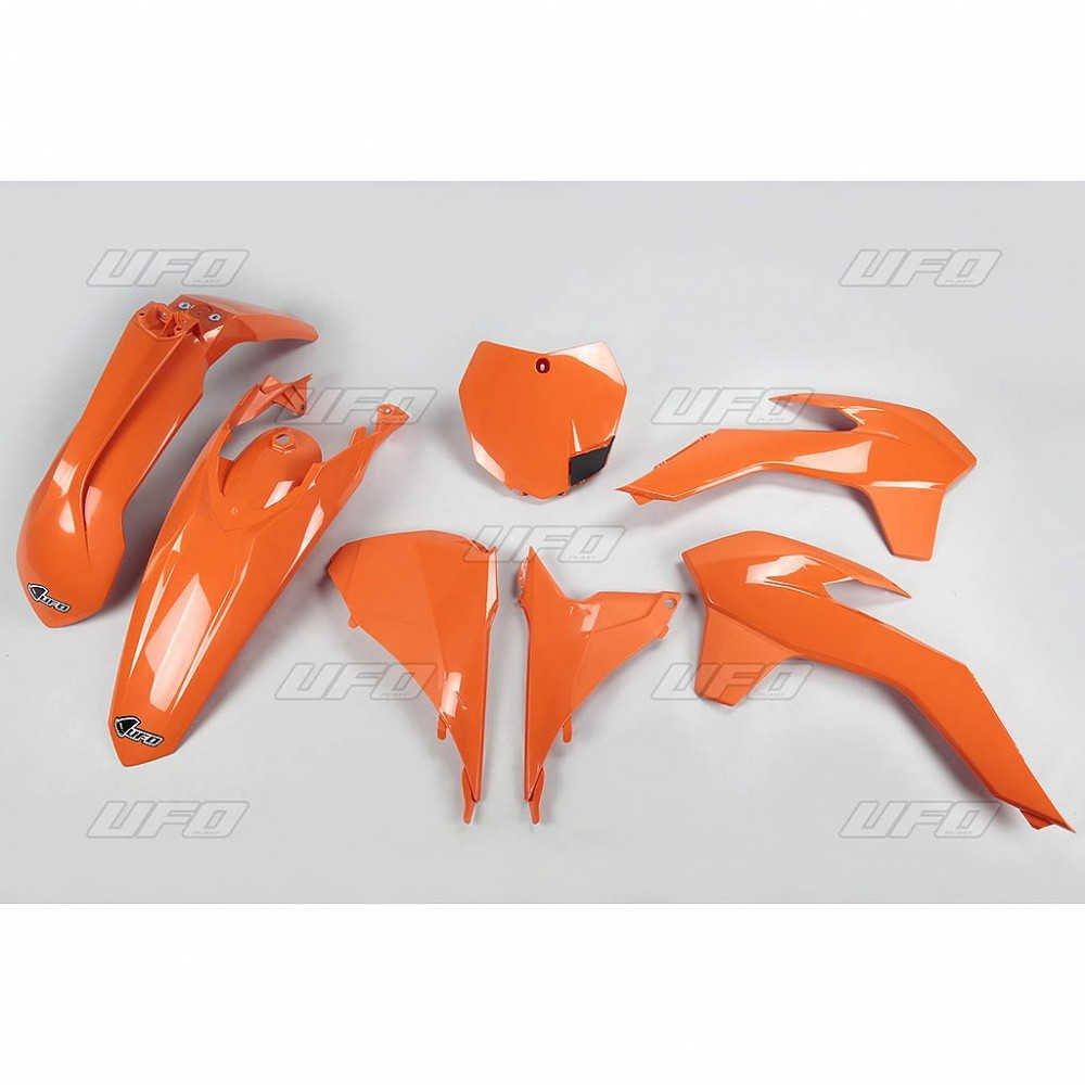 Sada plastů KTM - 125SX +250+350+450SXF / 13-15 + 250SX / 13-16 - oranžová
