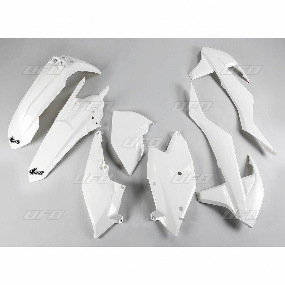Sada plastů KTM - 125+250+300+350+450+500EXC+EXCF / 17 - bílá
