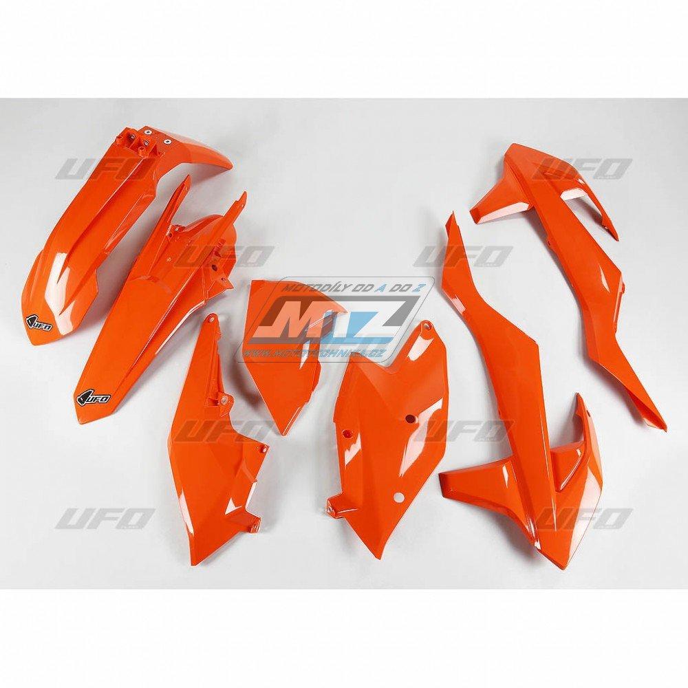 Sada plastů KTM - 125+250+300+350+450+500EXC+EXCF / 17 - oranžová