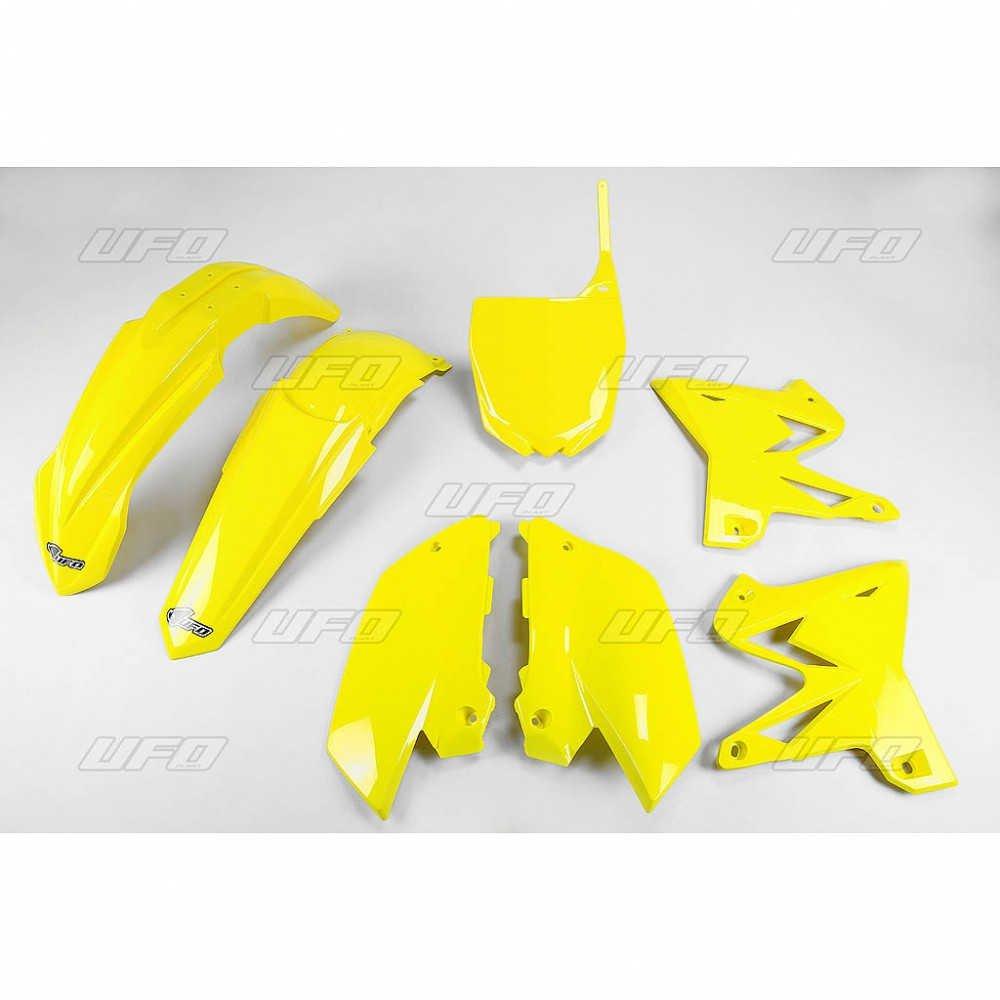 Sada plastů Yamaha - Restyling YZ125+250 / 02-14 - žlutá